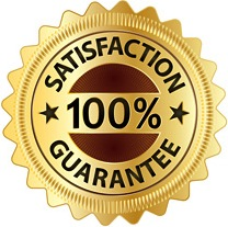 100 percent satisfaction-guarantee